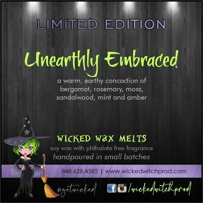 Unearthly Embraced Wicked Wax Melts