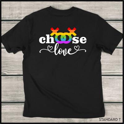 Choose Love (Female) Standard T-Shirt