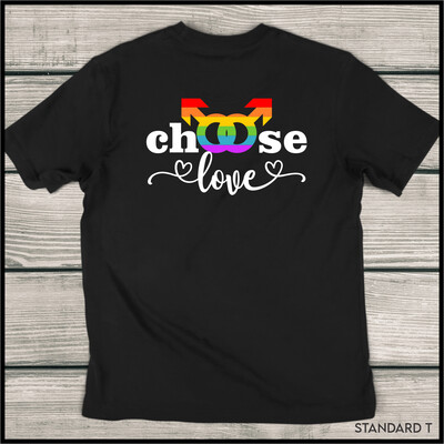 Choose Love (Male) Standard T-Shirt