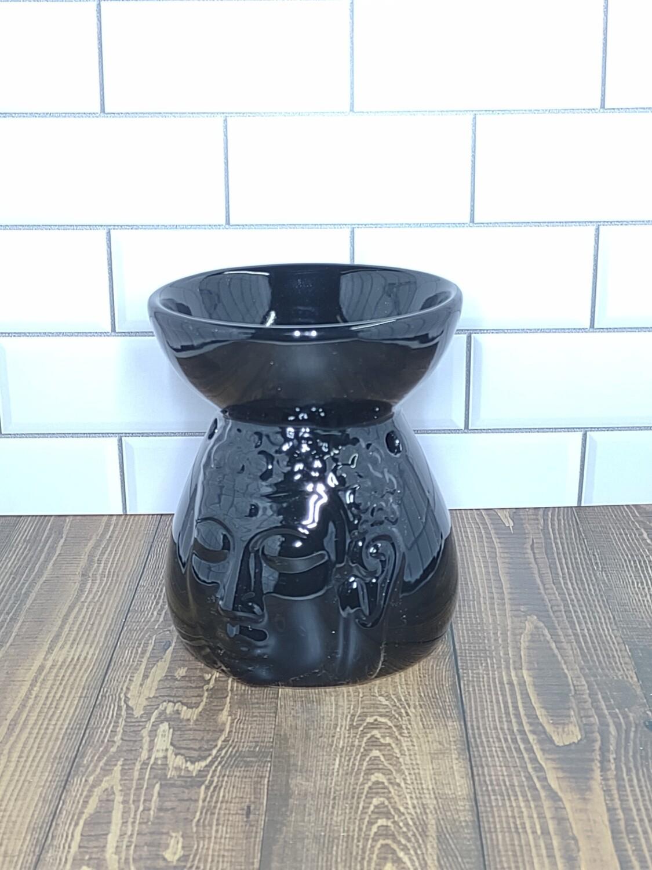 Buddha Wax and Oil Warmer (Black)