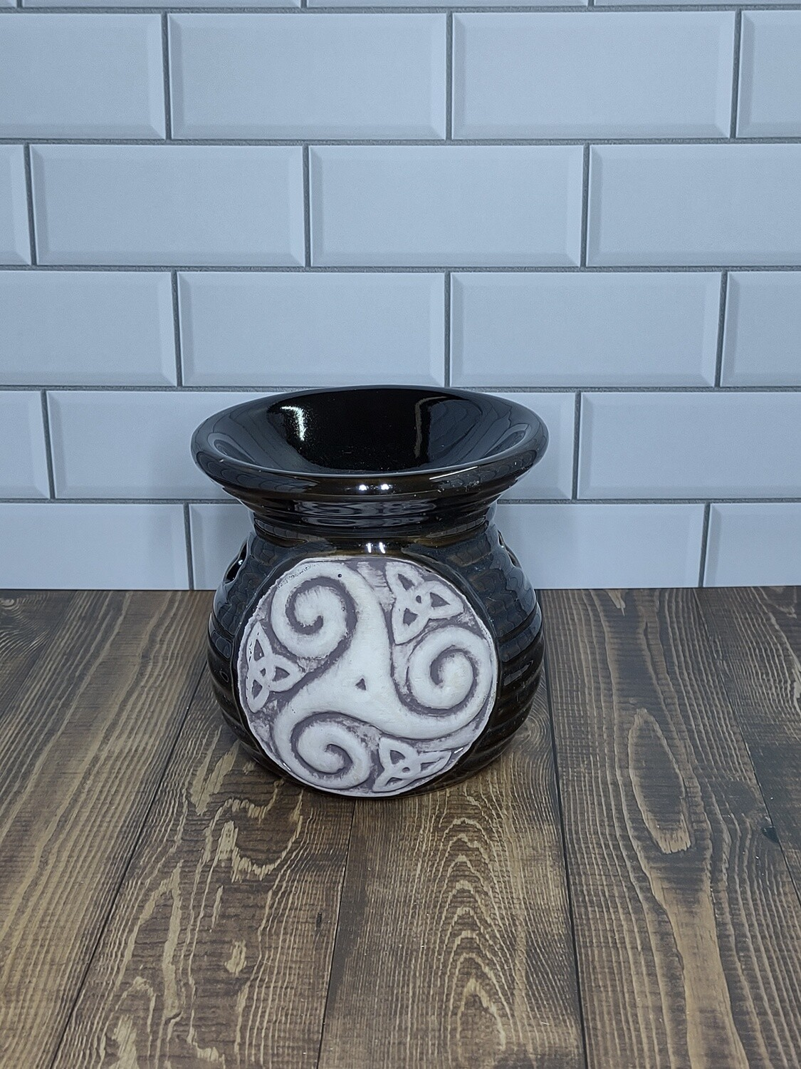 Triskele and Knotwork Warmer (Brown)