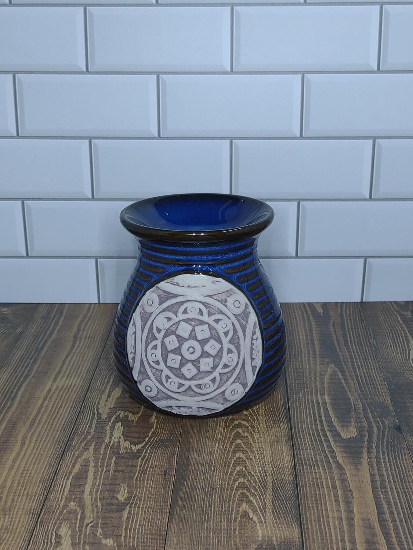 Flower Mandala Warmer (Blue)