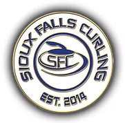 Sioux Falls Curling Pin