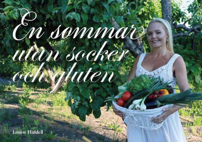 """Kokbok """"En sommar utan socker och gluten"""""""