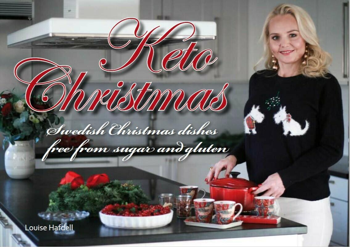 "e-Book ""Keto Christmas, free from sugar and gluten"""