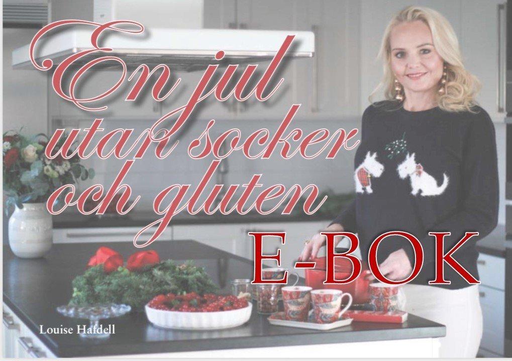 """e-bok """"En jul utan socker och gluten"""""""