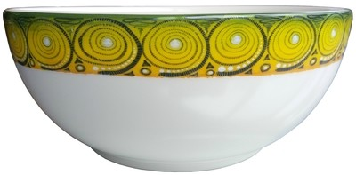 "Salad Bowl Large 9"" Cheetah FREE SHIPPING"