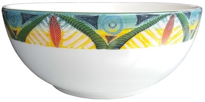 """Salad Bowl Large 9"""" Leopard FREE SHIPPING"""