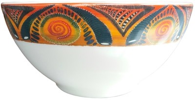 "Salad Bowl  Medium 7.5""   Kudu"