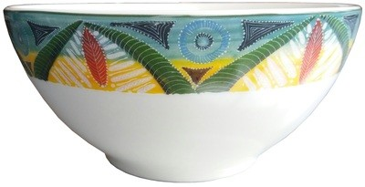 "Salad Bowl Medium 7.5"" Leopard"