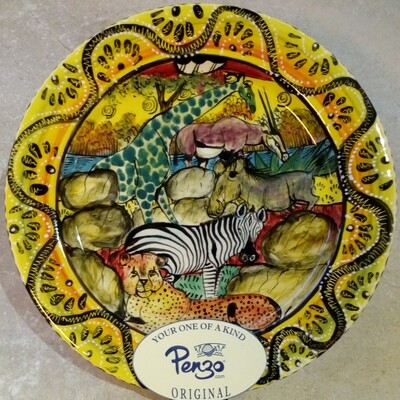 """Mashona Bread/Butter Plate 7"""""""