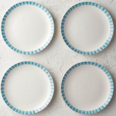 "PENZO's ""Alhambra"" Dinner Plate 10.5"" Set of 4 FREE SHIPPING"