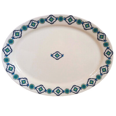 """PENZO's """"Alhambra"""" Oval Platter 16""""x11.5"""""""