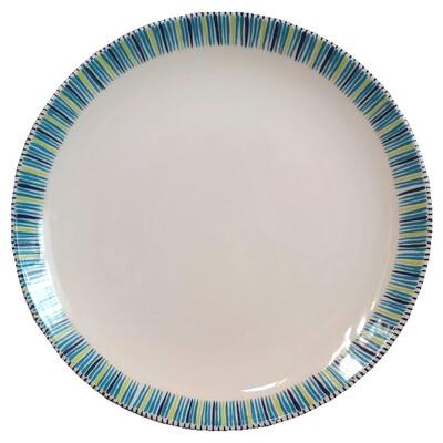 """PENZO's """"Alhambra"""" Dinner Plate 10.5"""""""