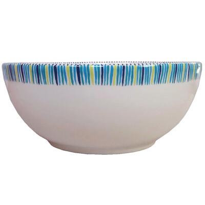 "PENZO's ""Alhambra"" Salad Bowl Large 9.25"" nr.2"