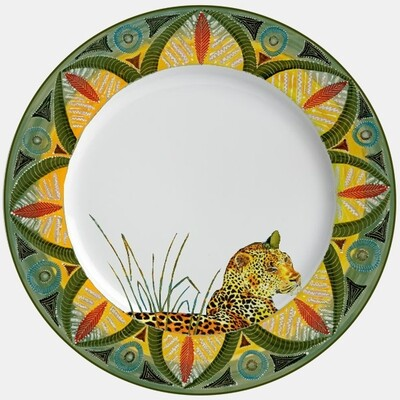 "Dinner Plate 11.5""         Leopard"