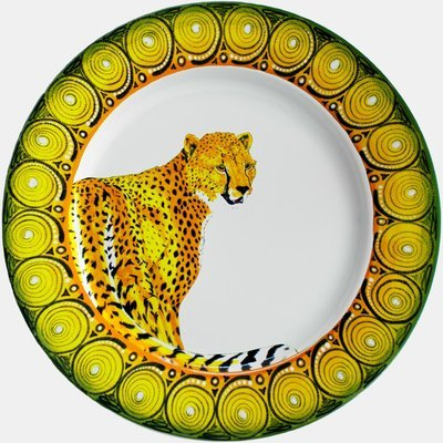 "Salad Plate 9""         Cheetah"