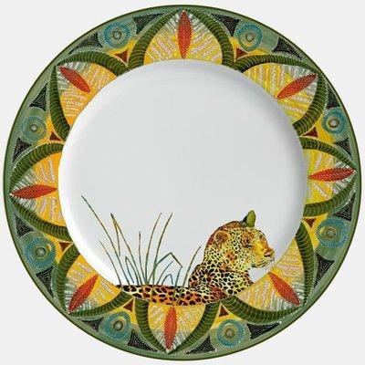 "Salad Plate 9""         Leopard"