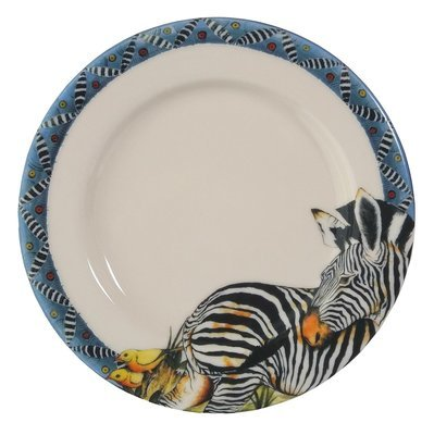 "Bread Plate 7.5""                Zebra"
