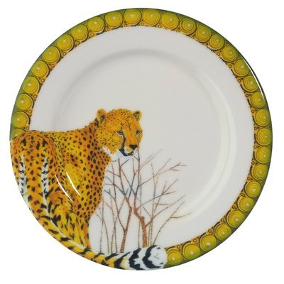 "Bread Plate 7.5""                   Cheetah"