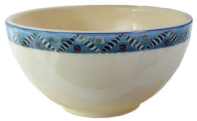 "Cereal Bowl 6""                Zebra"