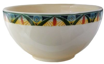 "Cereal Bowl 6""                Leopard"