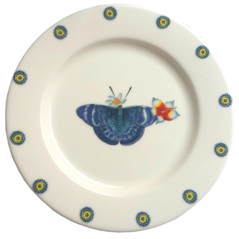 "Bread Plate Daisy 7.5"""