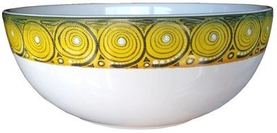 "Salad Bowl Medium 7.5"" Cheetah"