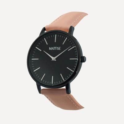 Meis³ with Pink leather strap