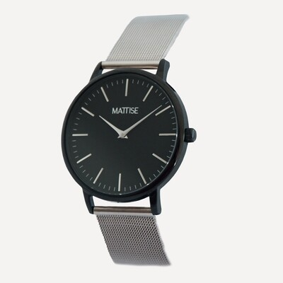 Meis³ with Silver mesh strap