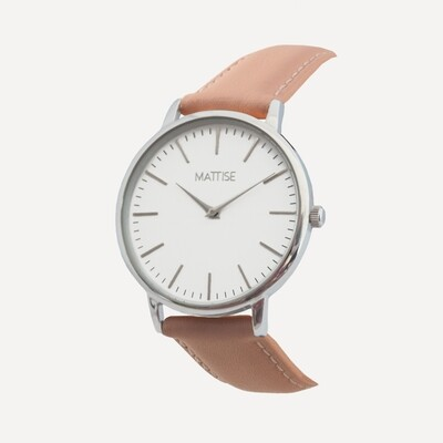 Luisa with Pink leather strap