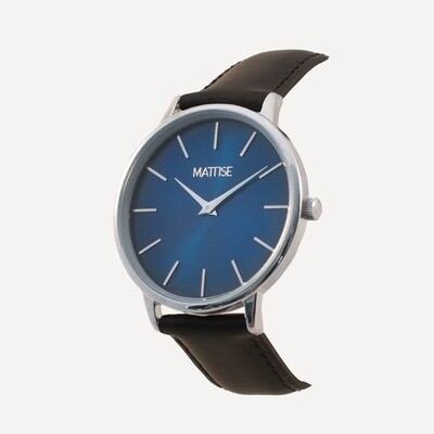 Ol' Blue with Black leather strap