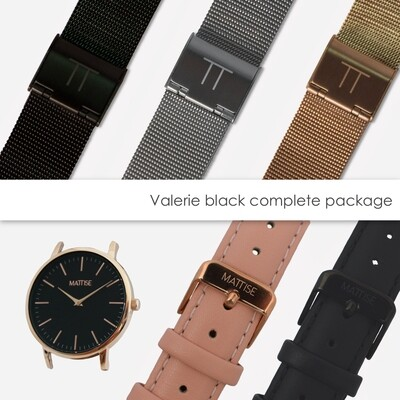 Valerie black complete package
