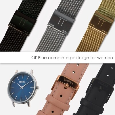 Ol' Blue complete package for women