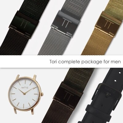 Tori complete package for men