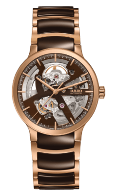 Centrix Open Heart Brown Dial 38MM Automatic R30181312