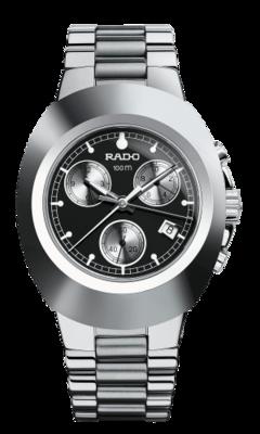 New Original Chronograph Black Dial 39MM Quartz R12638163