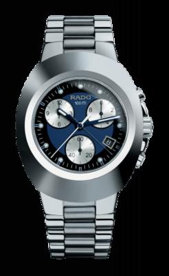 New Original Chronograph Blue Dial 39MM Quartz R12638173