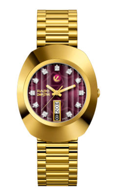 The Original Automatic Maroon Dial 35MM R12413573