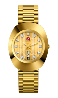 The Original Automatic Gold Dial 35MM R12413503