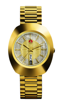 The Original Automatic Gold Dial 35MM R12413243