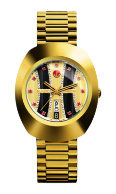 The Original Automatic Black & Gold Dial 35MM R12413323