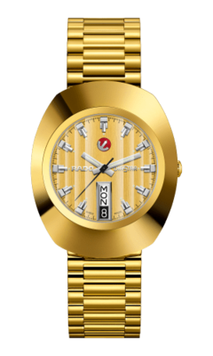 The Original Automatic Gold Dial 35MM R12413633