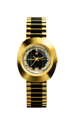 The Original Automatic Black & Gold Dial 27MM R12416514
