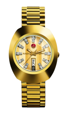 The Original Automatic Gold Dial 35MM R12413803