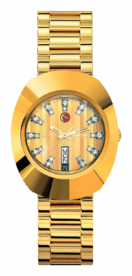 The Original Automatic Gold Dial 35MM R12413804