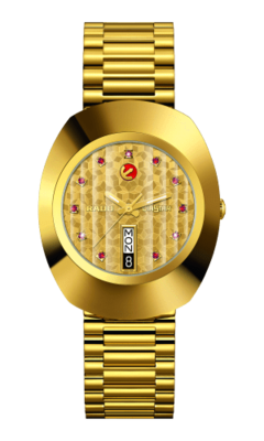 The Original Automatic Gold Dial 35MM R12413653