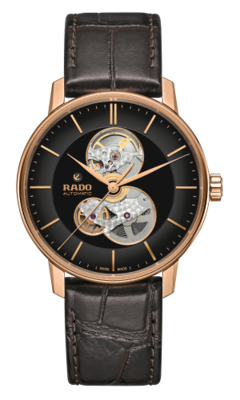 Coupole Classic Open Heart Black Dial 41MM Automatic R22895165