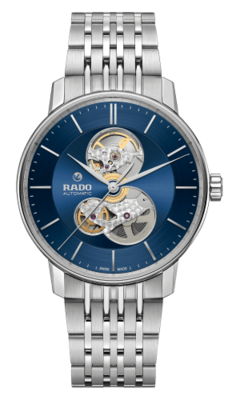 Coupole Classic Open Heart Blue Dial 41MM Automatic R22894203