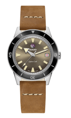 Captain Cook Brown Dial 42MM Automatic R32500315
